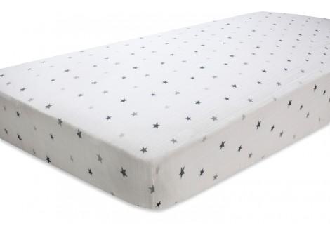 drap housse mousseline pour lit b b aden et anais. Black Bedroom Furniture Sets. Home Design Ideas