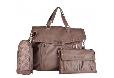 Sac à langer Magic Stroller Bag - Lady Rock Taupe - Accessoires