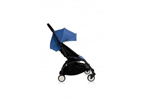 Poussette Babyzen Yoyo Plus 6+ bleu châssis noir
