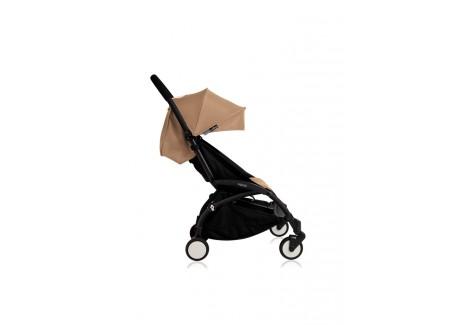 poussette babyzen yoyo plus 6 taupe ch ssis noir. Black Bedroom Furniture Sets. Home Design Ideas