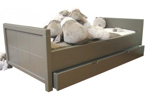 Lit junior avec tiroir lit Quax Quarré Tartufo