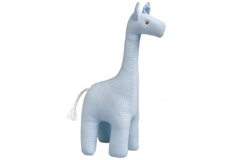 Girafe Vichy Ciel 26Cm