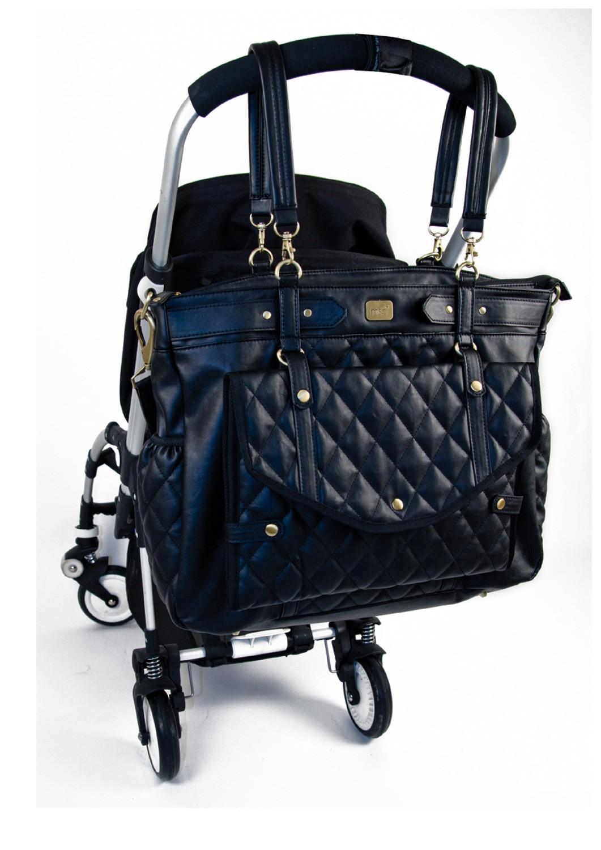 Chic à Little Lady Stroller Sac langer Bag Black Magic qpg1ZfT