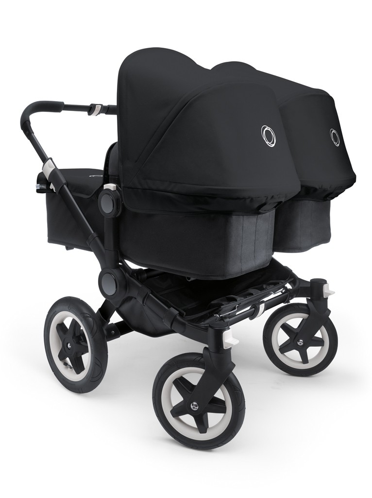 Poussette Bugaboo Donkey Twin 233 Dition Sp 233 Ciale All Black