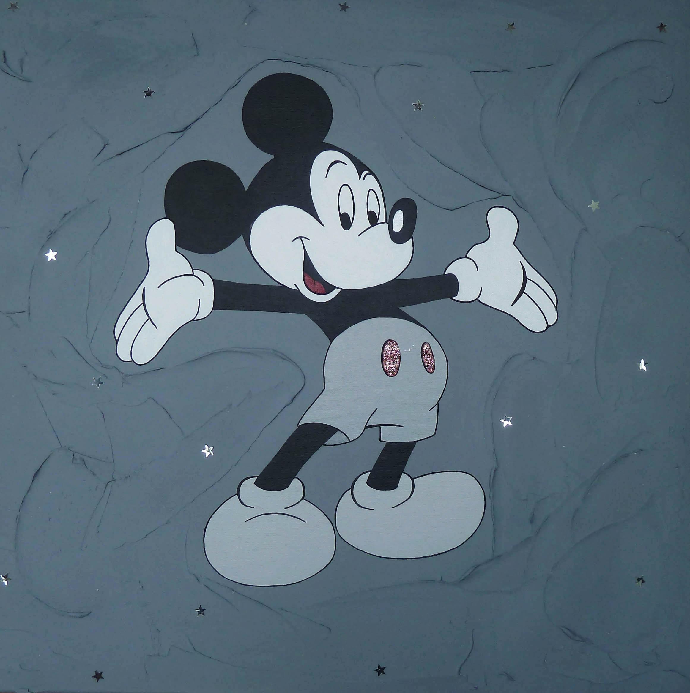 Tableau enfant personnalisé Mickey