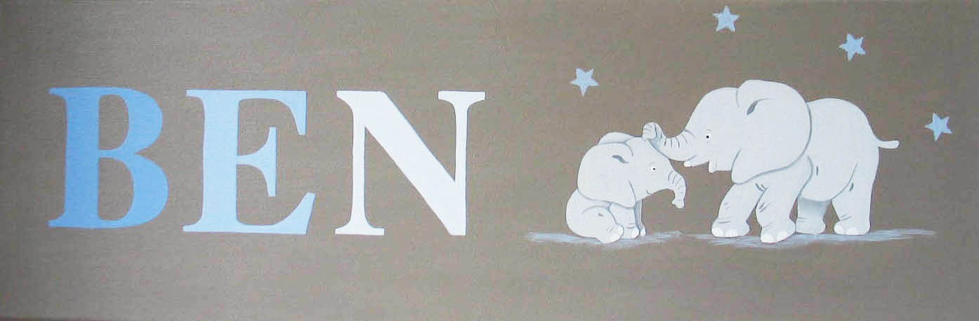 Tableau Enfant Prenom Personnalisable