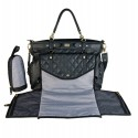 Sac à langer Lady chic Black