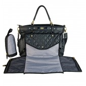 Sac à langer Lady chic Black Magic stroller bag - accessoires