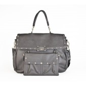 Sac à langer Magic Stroller Bag - Lady Rock Gris - Face avant