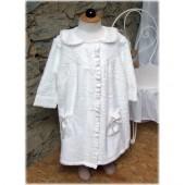 peignoir robe blanc
