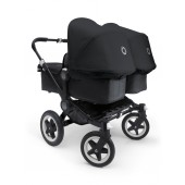 Poussette Bugaboo Donkey All Black Twin