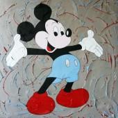 Tableau Mickey couleur