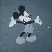 Tableau Mickey gris