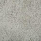 Tapis Pilepoil carré 140x140cm Arsenic